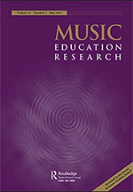 Music Education Research cover